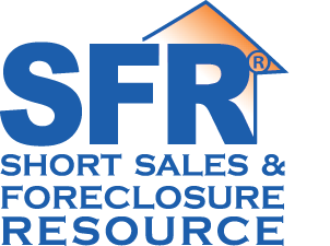 SFR Short Sale and Forelosure Resource Logo - which if you click on this will popup a copy of Michael Klinger SFR Certificate which he earned in May of 2010