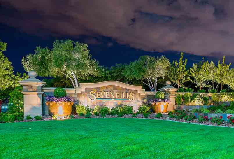 Seven Hills a Henderson master planned community located off of Eastern Ave and St. Rose Parkway.