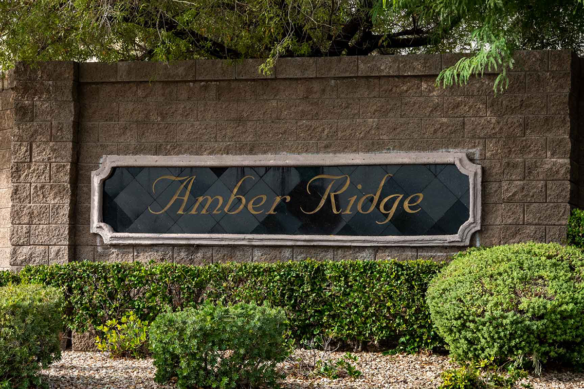 Amber Ridge a Henderson neighborhood in 89002