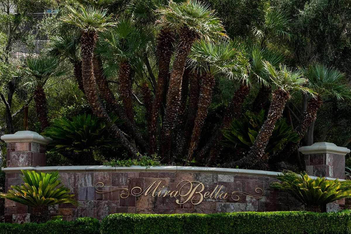 Mira Bella - A Lake Las Vegas community in Henderson Nevada, click on the lick to be directed to the market report and avaialble listings