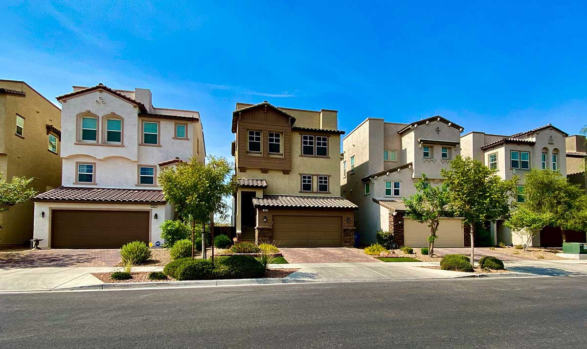 Three Story Homes in Cadence